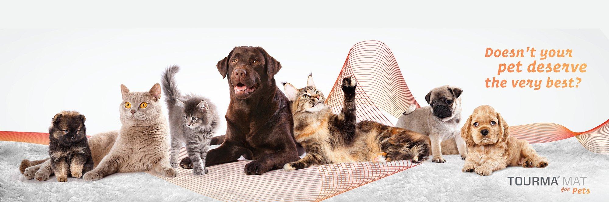 Tourma Mat for Pets banner
